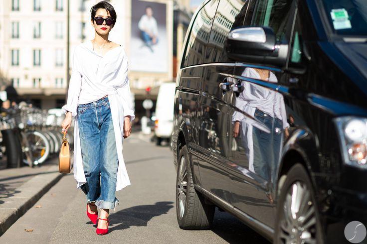 Nayoung Kim At Paris Fashion Week