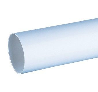Tubulatura circulara Blauberg PlastiVent - Diametru 125mm - 350 mm
