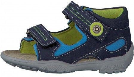 Ricosta Pepino Manti Blue Sandals