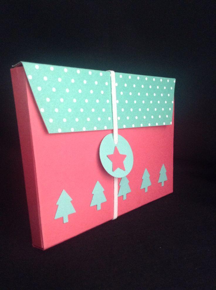 Christmas gift holder box
