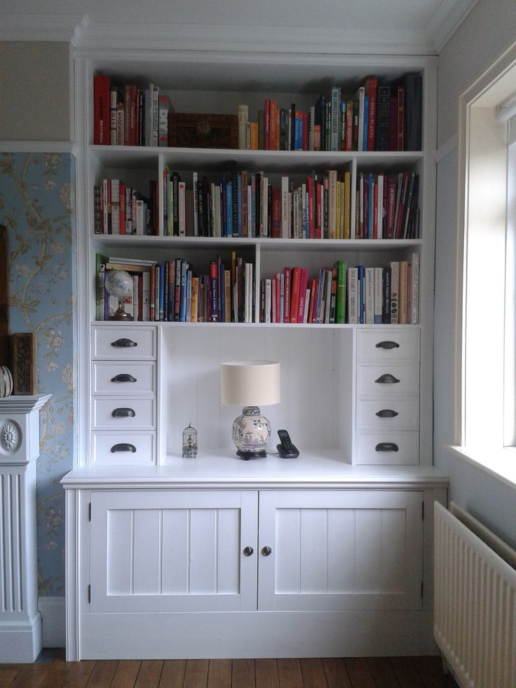 alcove cupboard with drawers