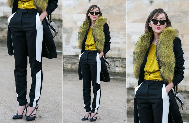 Ugens look: Pelstørklæde  http://stylista.dk/trends-og-guides/ugens-look-pelst%C3%B8rkl%C3%A6de