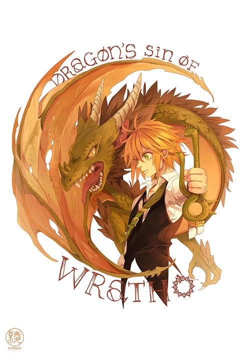 Dragon's Sin of Wrath - Nanatsu no Taizai | Meliodas