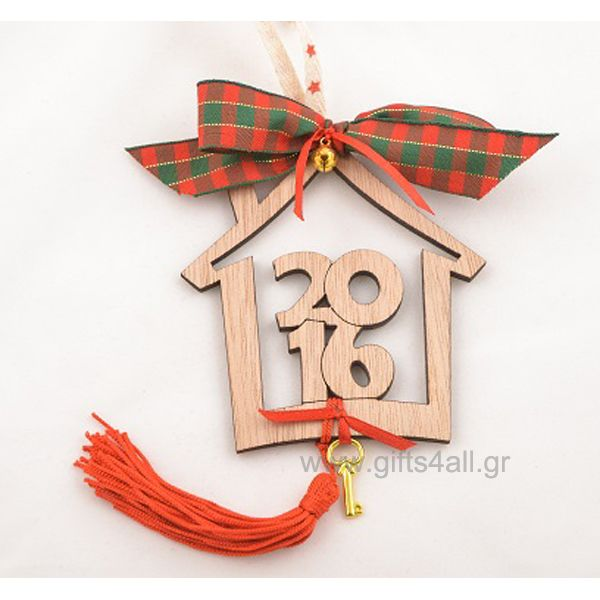 Lucky charm home for happy new year