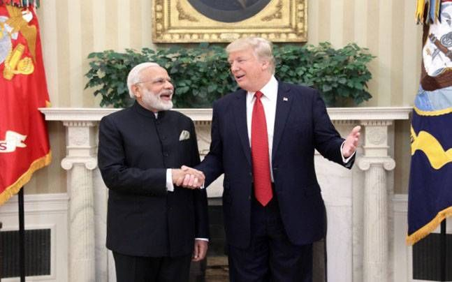 """US President Donald Trump on Monday described Prime Minister Narendra Modi and himself as """"world leaders in social media""""  https://twitter.com/narendramodi/status/879616675544309761  """"I'm proud to announce to the media,   #American people #citizens #countries #elected officials #Indian people #khabarsamay #media #multi-million #PM Modi and Donald Trump are 'social media leaders' #Prime Minister Modi #Prime Minister Narendra Modi #social media #social media platforms #US Presi"""