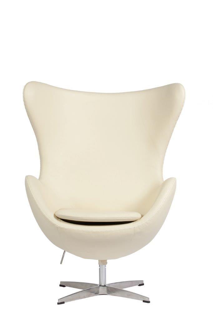 Это кресло – не только функциональный предмет мебели, но и достойное украшение для современного домашнего или офисного интерьера. Кресло имеет скругленные формы, в нем очень удобно сидеть. Кресло выполнено в нейтральном кремовом цвете, он не такой маркий, как белый, и при этом визуально расширяет пространство. Кресло обтянуто натуральной итальянской кожей элитного класса, ножка выполнена из стали.             Метки: Кресла для дома, Кресла с высокой спинкой, Кресло для отдыха…