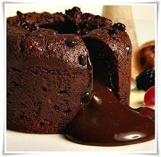 Receta volcan de chocolate | Recetas de bizcochos,galletas y alfajores | Tus Recetas