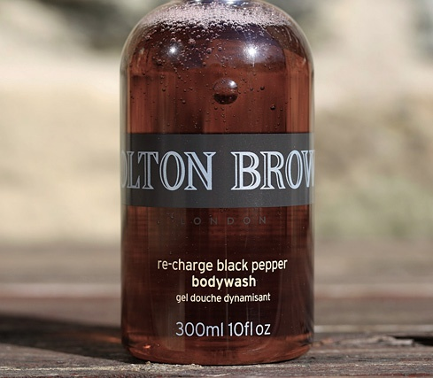 Possibly the finest shower gel ever made - Molton Brown Re-Charge Black Pepper Body Wash. #moltonbrown