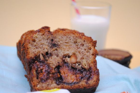 Reese's Cup Peanut Butter Banana Bread | Butter, Reeses peanut butter ...