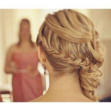pretty hairHair Ideas, Bridesmaid Hair, Prom Hairstyles, Long Hair, Longhair, Hair Style, Side Pony, Side Braids, Wedding Hairstyles