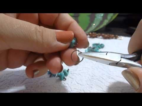 Браслет из натуральных камней своими руками, handmade - YouTube