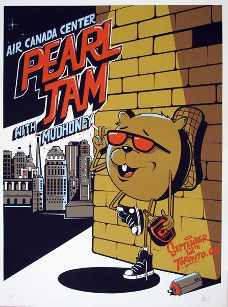 GigPosters.com - Pearl Jam - Mudhoney
