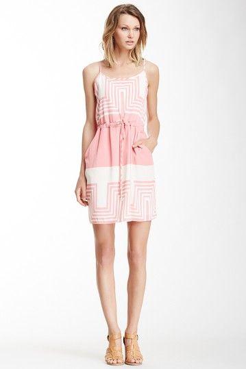 California Geometric Print Dress by Peach Love Cream California on @HauteLook