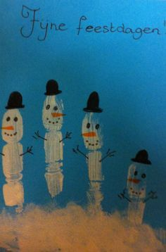 kerstkaarten maken met kinderen - Google zoeken