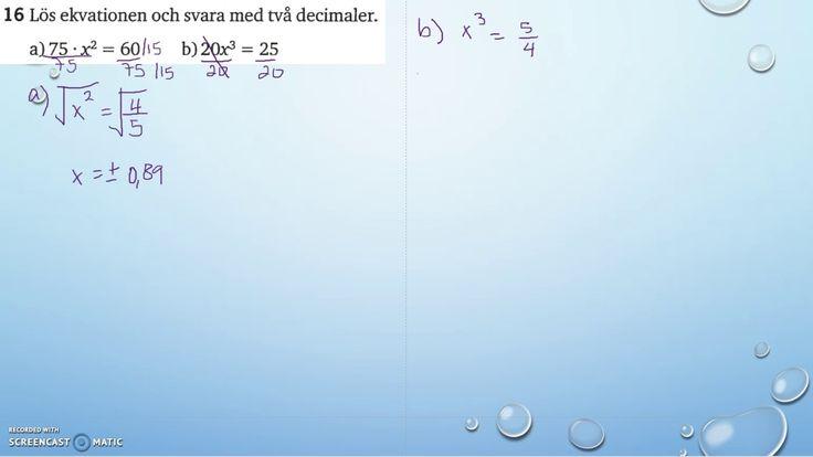 Matematik 5000 Ma 2a   Kapitel 2   Blandade övningar 2   16