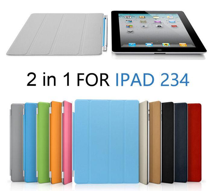 2in1 Ultra Slim Magnetic Case Smart Cover for Apple iPad 2 3 4 PU Leather Case with Back Cover for Apple ipad2 ipad3 ipad4 #CLICK! #clothing, #shoes, #jewelry, #women, #men