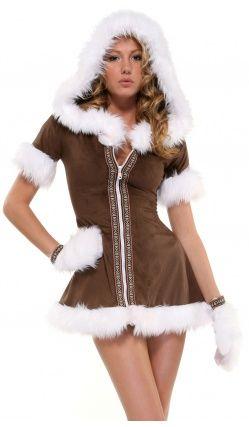 Costume esquimau femme