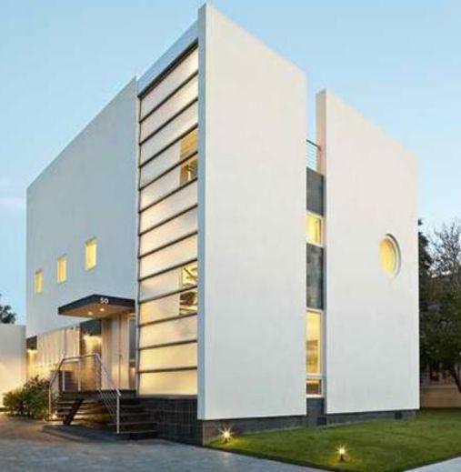 Fachada de casa minimalista fachada edificio minimalista for Fachadas edificios minimalistas
