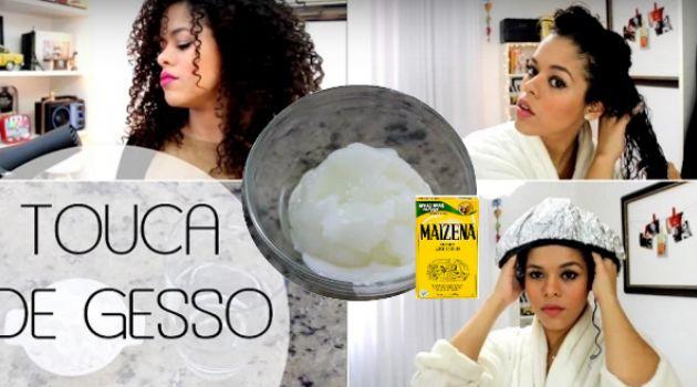 Creme de hidratação caseiro com maisena: como fazer para aplicar no cabelo - Bolsa de Mulher