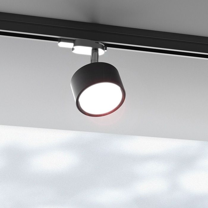 PIXIE FOR A 3-CIRCUIT TRACK | rendl light studio PIXIE FOR A 3-CIRCUIT TRACK | rendl light studio | Directional light with an adapter for 3-circuit tracks. #lighting #systems #interior #modern