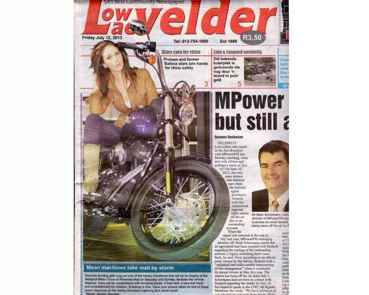 Lowvelder Front Page Nelspruit Motor Show 2013