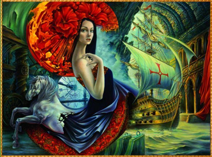 Alex Fishgoyt - SPAIN - original painting