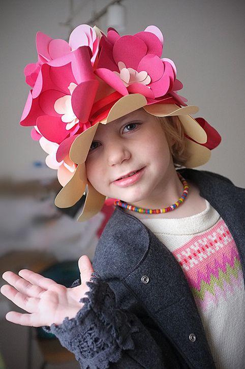 Сделать шляпку для ребенка своими руками