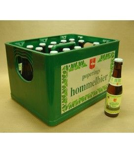 Poperings Hommelbier full crate 24 x 25 cl