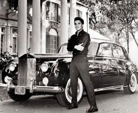 Elvis Presley's 1960 Rolls-Royce Phantom V