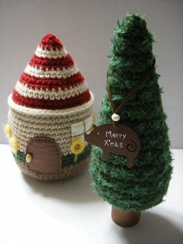 Figure about publishing knitting amigurumi