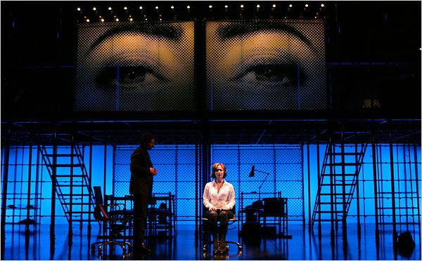 Next To Normal - saw this on Broadway, April 2010.  Amazing production that stretched the boundaries of musical theatre.