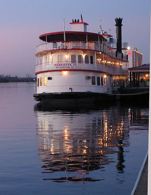 Wilmington River Boat North Carolina: Henrietta III Was on this!