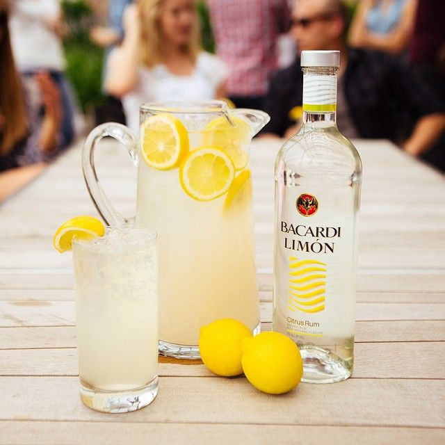 The earlier you stock up, the earlier you can start. #BacardiLimonade - the perfect drink for your #4thofJuly.  1 part BACARDI Limon 3 parts Lemonade