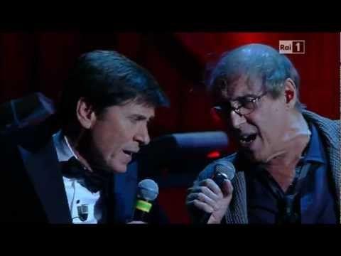 Adriano Celentano & Gianni Morandi - Ti Penso e Cambia il Mondo - Sanrem...