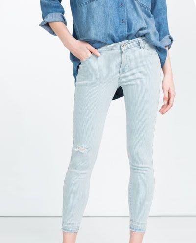 Light  blue jeans Zara