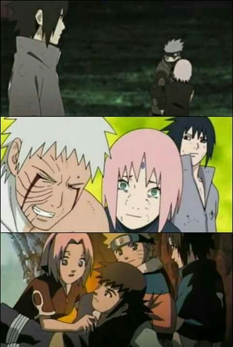 Tehehehe admit your jealousy, Sasuke