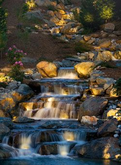 12-volt Water Lighting - Pond lights, underwater lights, and floating lights to enhance your water features.       Let our water lighting bring out the best features of your water features, ponds and fountains. Submerge our underwater lights to bring a waterfall to life after dark. Add pond lights in charming shapes like a heron or a fish to add nighttime interest. Let Kichler quality bring something magical to your garden and water features.    Kichler's new, expanded line of…