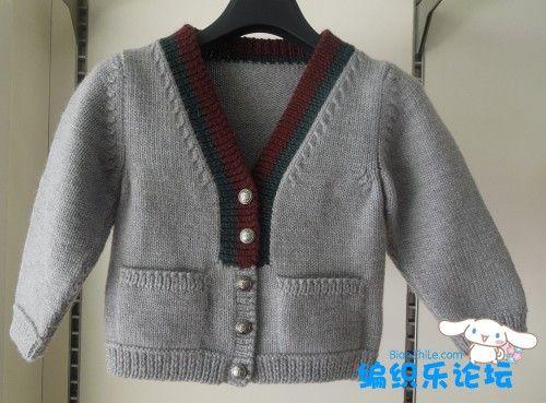 【转载】[3-6岁]两款好看的儿童毛衣,还有图解 - zhaoxin1515的日志 - 网易博客