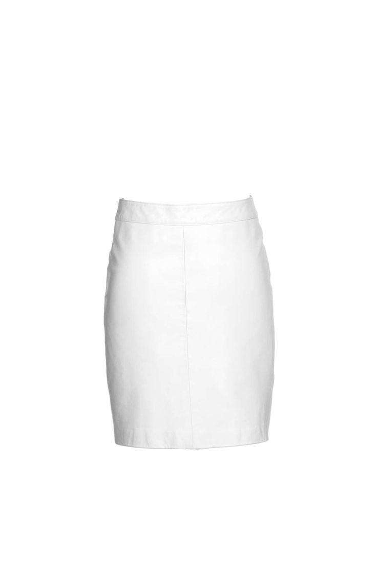 Stine Kim Design White Skirt  #blackandwhite