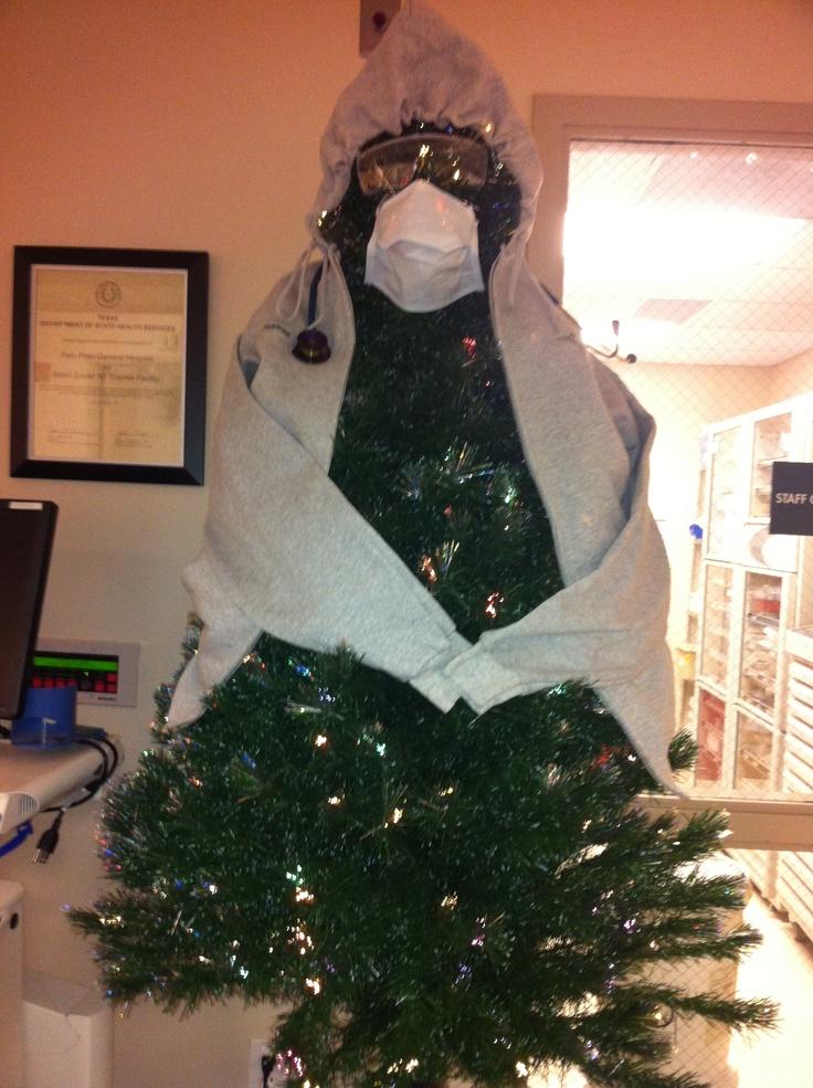 Emergency Room Christmas Tree Humor Pinterest