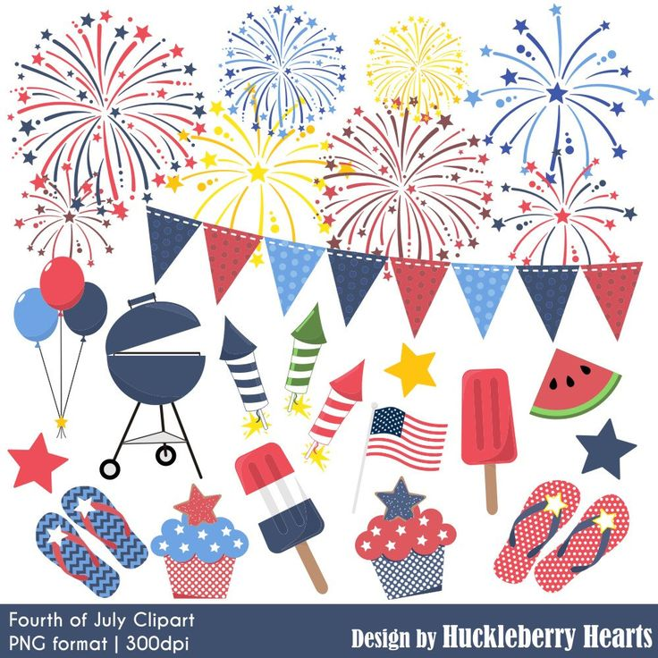 80% OFF SALE Fourth of July Clipart, Fireworks Clipart, Independence Day Clipart, Fourth of July Clip Art, Red, White, Blue by HuckleberryHearts on Etsy https://www.etsy.com/listing/236494044/80-off-sale-fourth-of-july-clipart