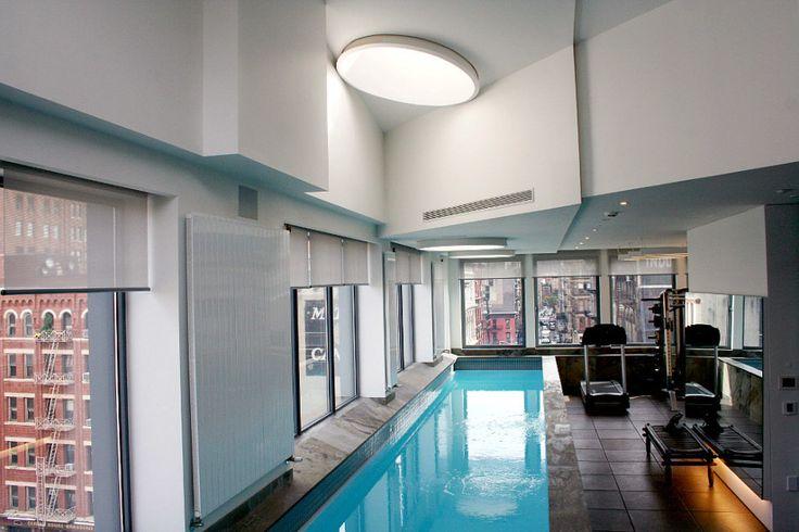 Indoor lap pool nikki and allen s dream house