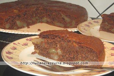 I Pasticci di Luna: Torta muffinosa cioccolato e pere
