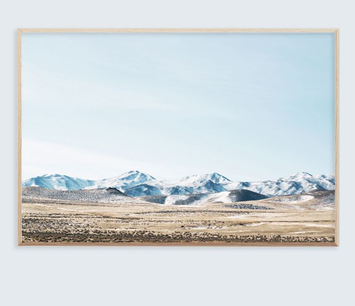 Original archival quality giclee print entitled 'Nevada' by photographer Brooke Holm.