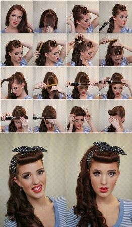 Peinado pin up