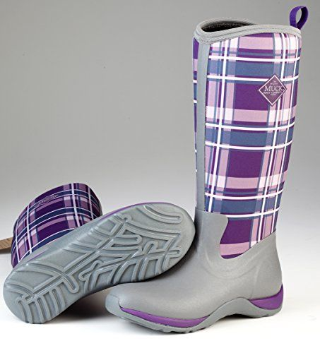 Muck Boots Women's Arctic Adventure Boot, Grey/Acai Purple Plaid, 5 B(M) US Womens Muck Boot http://www.amazon.com/dp/B00TT3GD6Y/ref=cm_sw_r_pi_dp_cOTjwb1GVV1WE