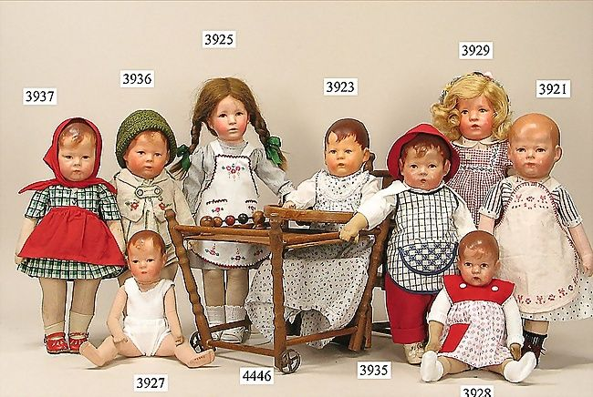 Antique Kathe Kruse dolls
