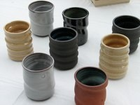 Love these glasses by our friend, and favourite potter, Jeff Martens.
