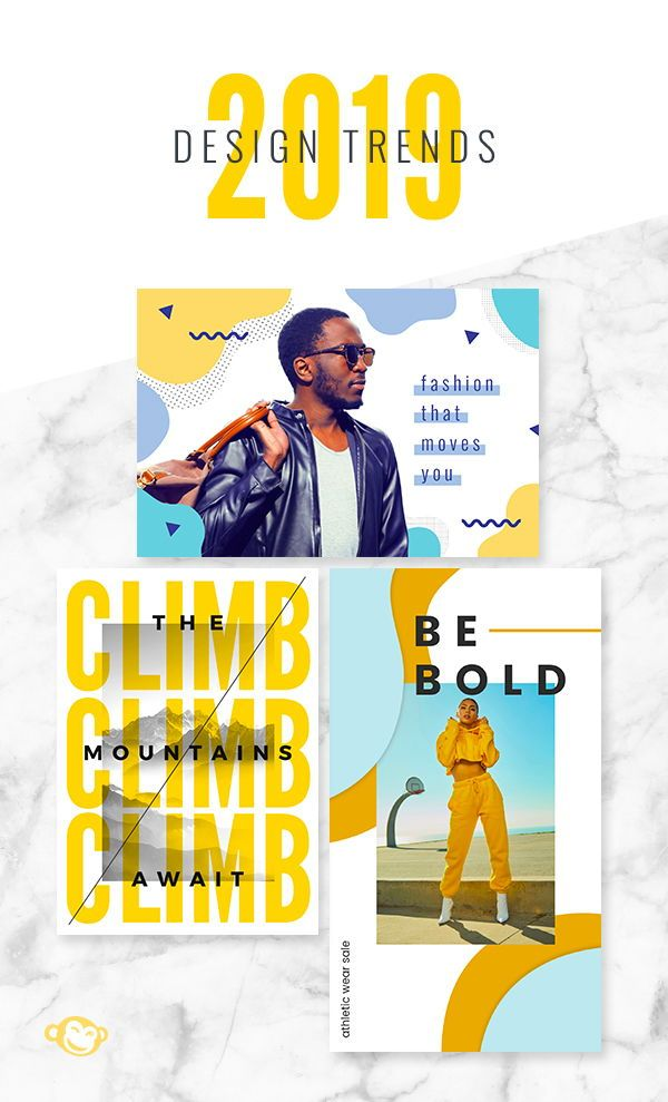 Graphic design trends for 2019 | Typography | Graphic design