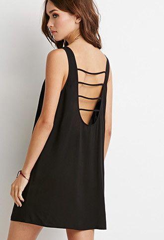 Mini Vestido Espalda Abierta | Forever 21 - 2000131007